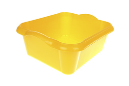 ARTGOS Miska prostokątna 10 L żółta