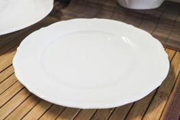 MARIA TERESA Porcelana gastronomiczna Talerz płytki 21 cm 0000