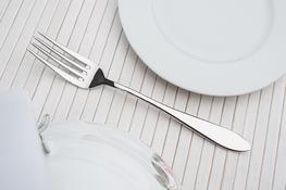 GERPOL MONA Widelec obiadowy połysk 20 cm