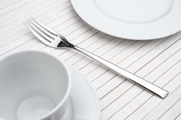 GERLACH FLAMES Widelec obiadowy połysk 19 cm, zestaw 6 szt.