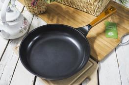 GERLACH NATUR Patelnia z powłoką ceramiczną 28 cm indukcja