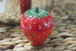 KOOPMAN Minutnik kuchenny owoce, warzywa - mix kolorów