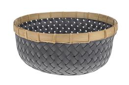 KOOPMAN Koszyk okrągły, misa 36 cm z bambusową obręczą
