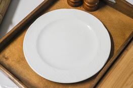 Talerz płytki Karlo 25.5 cm biały