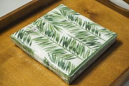 Serwetki papierowe LIŚCIE PALMY 20 sztuk 33 x 33 cm