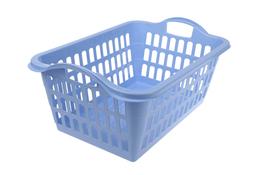 PLAST TEAM Kosz na pranie 45 L niebieski
