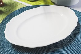 MARIA TERESA Porcelana gastronomiczna Półmisek owalny 29 x 20 cm C000