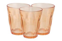Komplet 3 szklanek Karlo 175 ml - pomarańczowe