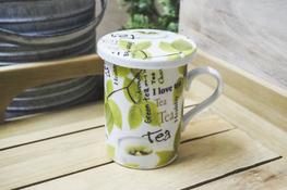 Kubek ceramiczny z zaparzaczem 250 ml