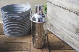 TADAR Shaker karbowany 500 ml Galeo
