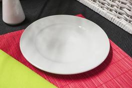 Talerz płytki Karlo 20.2 cm biały