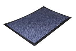 Wycieraczka podgumowana 40 x 60 cm niebieska