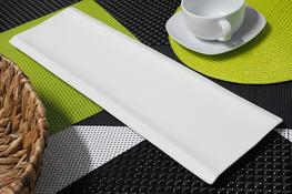 Półmisek porcelanowy prostokątny 45.5 x 13.5 cm