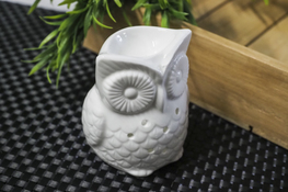 Kominek zapachowy ceramiczny Sowa wysoka