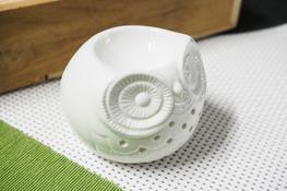 Kominek zapachowy ceramiczny Sowa niska