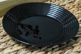 LUMINARC HARENA BLACK Talerz głęboki 23.5 cm