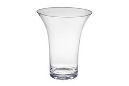 Wazon szklany h 18 cm