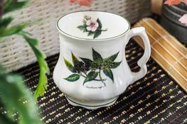 HANIPOL Porcelanowy Kubek Babuni 400 ml czarny bez