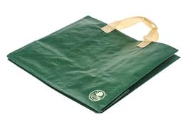 Torba na zakupy GREEN BAG zielona kratka