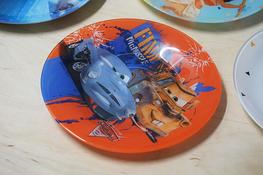 LUMINARC DISNEY Talerz deserowy 19.5 cm Auta 2
