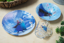LUMINARC DISNEY Komplet dziecięcy 3 el. Frozen