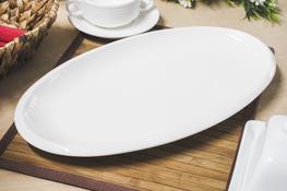 Półmisek porcelanowy owalny 41.5 x 23 cm