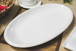 Półmisek porcelanowy owalny 46 x 26 cm