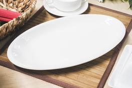 Półmisek porcelanowy owalny 37 x 20.5 cm