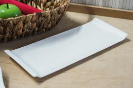 Półmisek porcelanowy prostokątny 31 x 12.5 cm
