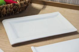 Półmisek porcelanowy prostokątny 30.5 x 18.5 cm