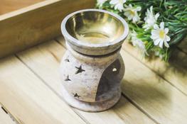 ADPAL Kominek dekoracyjny, lampka do olejków h - 10 cm