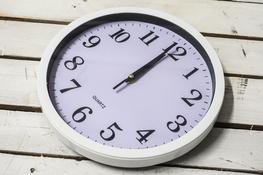 Zegar ścienny okrągły 27.5 cm