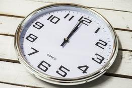 Zegar ścienny okrągły 32 cm