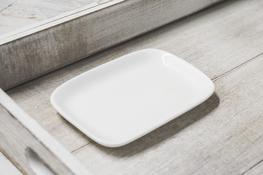 Naczynie porcelanowe prostokątne 13 x 8.7 cm