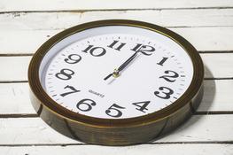 Zegar ścienny okrągły 32.5 cm