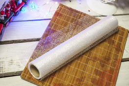 KOOPMAN Bieżnik świąteczny biały 30 x 500 cm mix wzorów