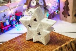 KOOPMAN Świąteczna figurka z podświetleniem LED mix wzorów