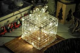 KOOPMAN Prezent 15 cm z podświetleniem LED