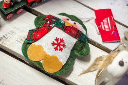 KOOPMAN Zawieszka świąteczna - mix wzorów