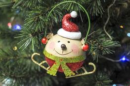 KOOPMAN Zawieszka figurka świąteczna mix wzorów