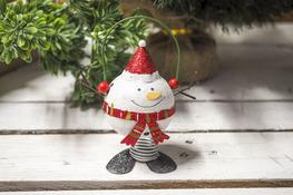 KOOPMAN Figurka świąteczna na sprężynie mix wzorów