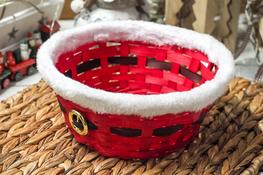 KOOPMAN Świąteczny koszyczek dekoracyjny 22 cm