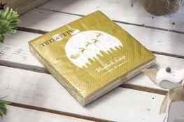 Serwetki papierowe Bombka 20 sztuk 33 x 33 cm